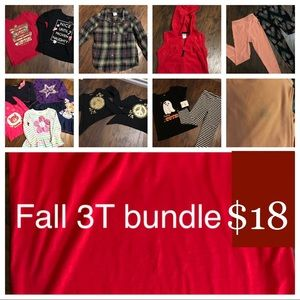 Other - Bundle of 3T Fall 🍁 clothing